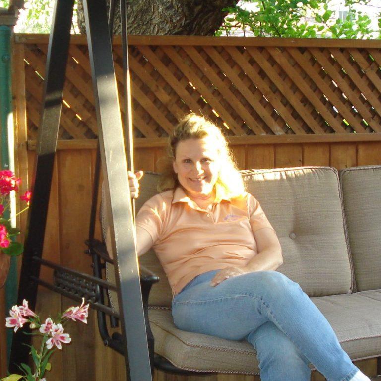 Helene Backyard