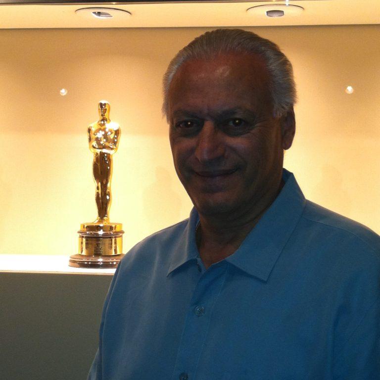 Zaf with Oscar