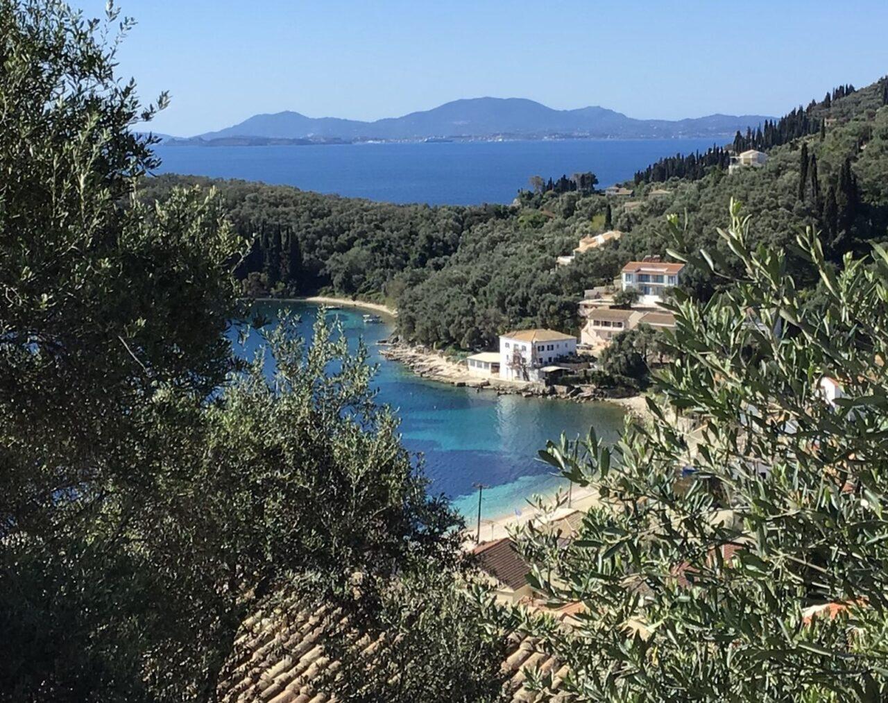 Photo of Corfu Beach in Greece