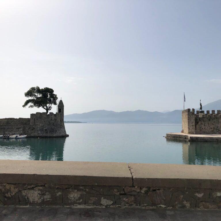 Pool of Water in Nafpaktos