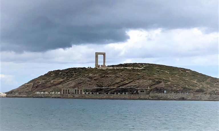 Photograph of Naxos Portara from The Personal Collection of Helene and Zaf
