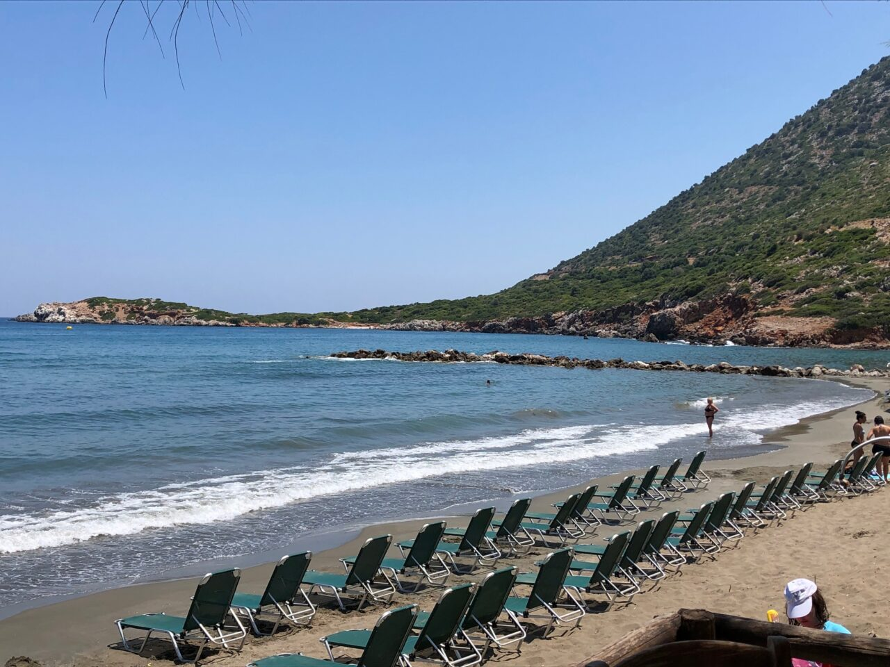 Photo of Cretan Mountain and Beach From the Personal Collection of Helene and Zaf